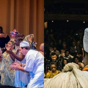 This Photos Of Brazilians Paying Homage To Ooni Of Ife Will Make You Fall In Love With Culture