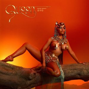 "Rapper Nicki Minaj Unveils Artwork For ""Queen"" Album"