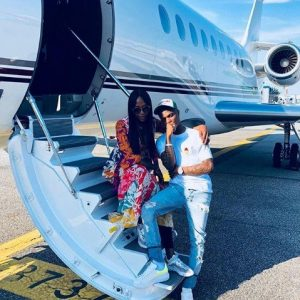 PHOTOS: StarBoy Wizkid and Naomi Campbell Jet Out To Milan