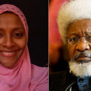 Your Hate For My Father Shall Kill You – Abacha's Daughter Slams Prof. Wole Soyinka