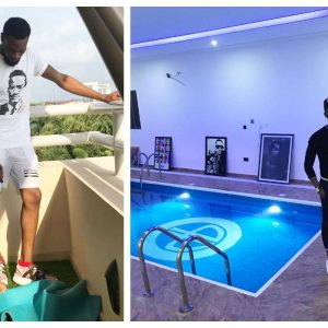 See Photos Of The Swimming Pool In D'banj's House That Drowned His Son…