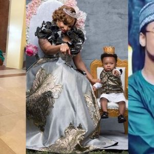 Nollywood Actress Tonto Dikeh Celebrates Herself On Father's Day, Explains How To Be A Good Father