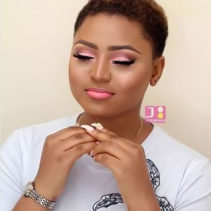 Regina Daniels Releases Stunning New Makeup Photos