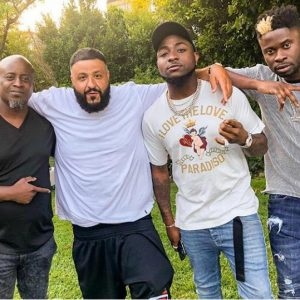Photo Of Davido Hangs Out With DJ Khaled At His Mansion In US