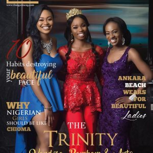 BBNaija's BamBam, Anto And Vandora Cover VL Magazine's Latest Edition