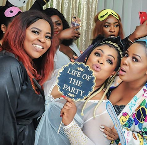 Photos: Nollywood Actress Dayo Amusa Host Friends To Pajamas-Themed Birthday Party