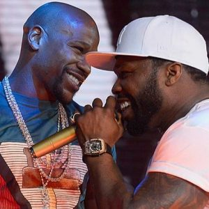 I 've  Be Wanting To Kill That Fool But He's My Little Brother, Says 50 Cent Comes For Mayweather Again