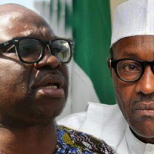 I Will Not Welcome President Buhari To Ekiti, Says  Fayose