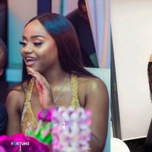 Fans Blasts Davido's Girlfriend Chioma Over Choice of Her Outfit
