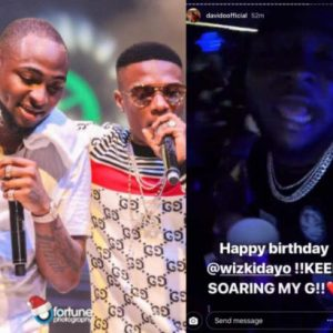 How Davido Is Celebrating Wizkid's 28th Birthday In Paris (Video)