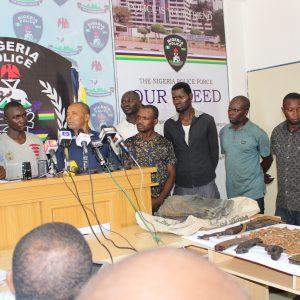Police Parade Alleged Perpetrators Of Benue, Plateau Killings