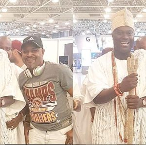 Saidi Balogun Meet Ooni Of Ife To Partner With Brazil on New Movie Project