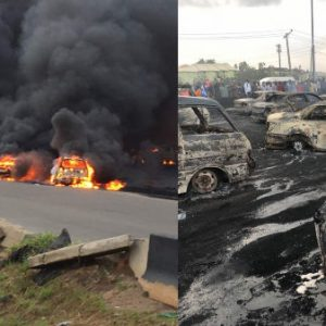 Otedola Bridge Fire: Police Nab Truck Owner