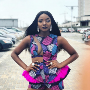 Photos: Singer Simi Rocks Her Beautiful Ankara Outfit