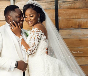Official Photos From Comedian Ajebo's White Wedding Ceremony