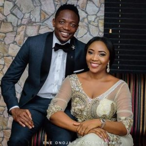 Ahmed Musa And Wife Juliet Celebrate Their First Wedding Anniversary