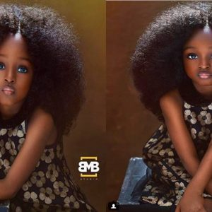 Photos: Four Year-Old Nigerian Girl Branded The Most Beautiful Girl In The World