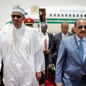 President Buhari Attend Mauritania For Au Summit