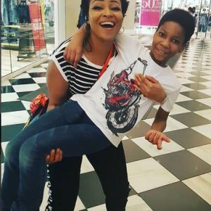 Nollywood Actress Doris Simeon Shares Lovely Birthday Photos With Her Son