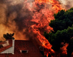 Greece Forest Fires: At least 50 Killed and 100 Injured As Apocalyptic Inferno Ravages