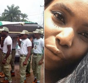 See Photos: Linda Angela Igwetu, Female Corper Who Was Shot Dead By Police In Abuja Gets Buried