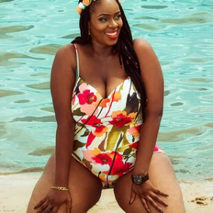 Nigerian Plus Size Model Release Birthday With Sultry Photos