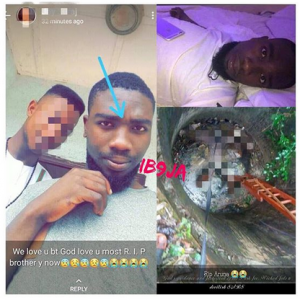 Final Year Student Falls Inside Well, Dies While Being Chased By SARS Official