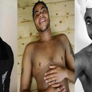 Transgender Photos : Sade Adu's Son Shows Off His Chest After Removing boobs
