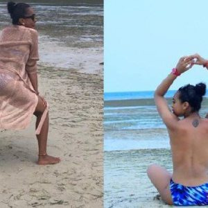 Photos+Video: TBoss Goes Topless As She Twerks Up Storm At The Beach