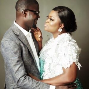 Actress Funke Akindele And Husband Celebrate 2nd Wedding Anniversary