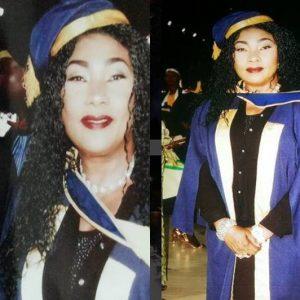 Photos: Veteran Actress, Eucharia Anunobi Bags Post Graduate Diploma Pastoral And Leadership Course