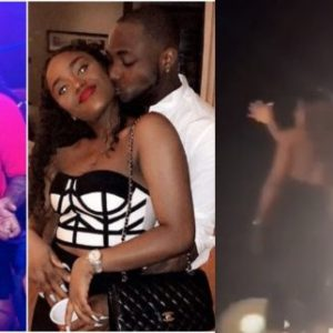 VIDEO: Davido Brings Chioma On Stage During His Performance In Cotonou