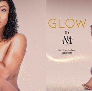 Photos: Toke Makinwa Goes Nude To Publicize New Business Line Glow By TM