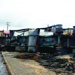 PH Residents:  Church, Hotel, Shops Burnt As Tanker Explodes…