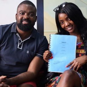 Photos: Simi Ventures Into Nollywood, Lands Movies Role In Kunle Afolayan's New Film
