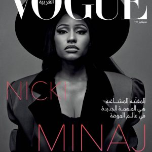 Pop Star, Nick Minaj Covers Vogues Arabias 2nd Edition Issue
