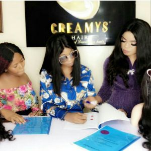 Photo: Bobrisky Signs Multi-Million Naira Endorsement Deal