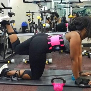 Photos: Reality Star, Cee-C Shows Off Her Curves As She Works Out In The Gym