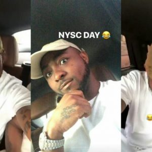 Finally Davido Speaks On Why He Registered For NYSC