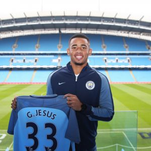 Gabriel Jesus Signs New Man city Deal