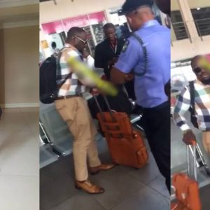 VIDEO: Nollywood Actor, Jim Iyke Arrested For Slapping Dana Air Staff