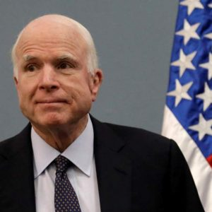 US Senator John McCain Dies At Aged 81 After Battle With Brain Cancer