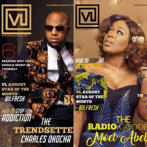 Charles Okocha And Moet Abebe Cover VL Magazine's Latest Edition