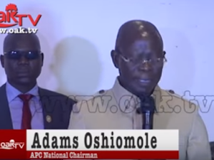 Adam Oshiomhole Denies Meeting APC Senators, Blasts National Newspapers, TV Channel