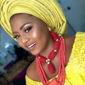 Actress Regina Daniels Look Stunning In Bridal Traditional Attire