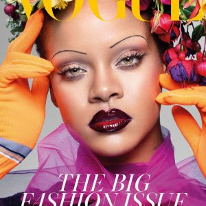 Rihanna Makes History On The Cover Of British Vogue Magazine September Edition