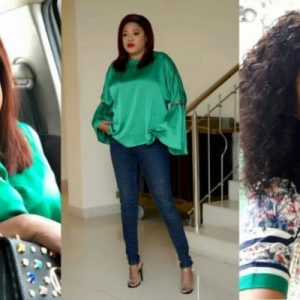 Toyin Abraham Blasts A Follower Who Said She Has Chicken Feet