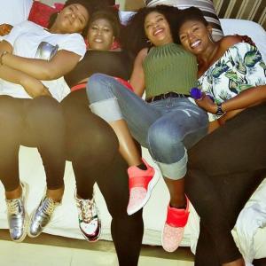 Ufuoma Mcdermott, Uche Jombo, Chioma Akpotha And  Omoni Oboli  Take Dubai