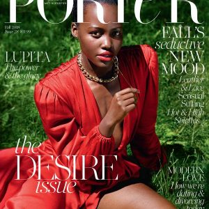 Photos: Lupita Nyong'o Is Red Hot For Porter Magazine's Desire Issues