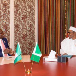 Gov. Akinwunmi Ambode Flies To Meet President Buhari In Abuja